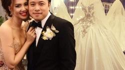 Cận cảnh váy cưới nặng 20kg của Đinh Ngọc Diệp