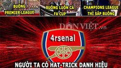 """HẬU TRƯỜNG (14.3): Sterling """"lái máy bay bà già"""", Arsenal có hat-trick """"buông cúp"""""""