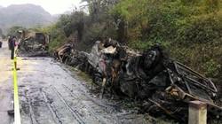 Tai nạn ở Hòa Bình: 230 triệu bị thiêu rụi trong xe khách?