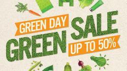 """Lễ hội XANH """"Green Day – Green Sale"""" tại Vincom"""