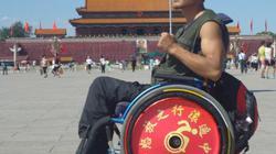 Một mình đi xe lăn xuyên Trung Quốc