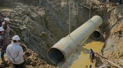 """Trung Quốc trúng thầu cung cấp ống nước:  Lo sợ """"của rẻ là của ôi""""?"""