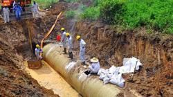 """Hà Nội """"né"""" các câu hỏi về dự án đường ống nước Sông Đà"""