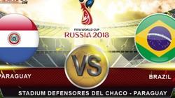 Xem trực tiếp Paraguay vs Brazil