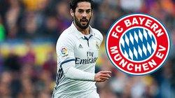 Top 10 ngôi sao có thể cập bến Bayern trong tháng 1.2017