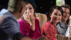 """Phương Thanh """"thả thính"""" chồng Cẩm Ly trên TV"""