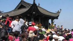 Lễ khai hội Xuân Yên Tử được tổ chức tại Chùa Trình vào ngày 6.2
