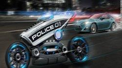Phát sốt với xe môtô cảnh sát không người lái
