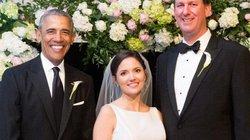 Phát hiện ông Obama làm phù rể trong đám cưới bạn thân