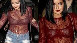 Cô béo xinh nhất Hollywood gây tò mò với áo trong suốt