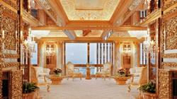"""""""Lóa mắt"""" với Penthouse dát vàng của TT Mỹ Donald Trump"""