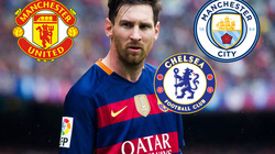 """CHUYỂN NHƯỢNG (14.1): """"Tam đại gia"""" Premier League quyết chiến vì Messi"""