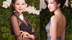 Hoa hậu Mỹ Linh khoe lưng thon, hoa hậu Ngọc Hân khoe chân dài