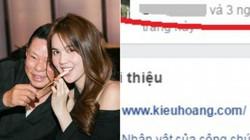 """Yêu Ngọc Trinh, tỷ phú Hoàng Kiều bỗng chốc thành """"hot facebooker"""""""