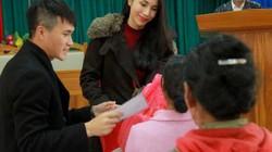 Công Vinh phát ngôn xúc động khi đi làm từ thiện