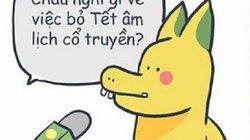 Hot facebook: Rồng Pikachu nêu ý kiến về bỏ Tết Nguyên đán