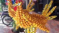 Lạ mắt cây dư hình Đinh Dậu đắt khách ngày cận Tết