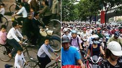 Ảnh: Giao thông Hà Nội, góc nhìn xưa và nay