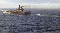NATO bám sát nhất cử nhất động đội tàu sân bay tấn công của Nga