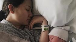 Ngọc Lan đã sinh con đầu lòng ở Mỹ
