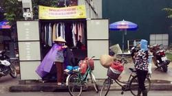 Hà Tĩnh: Tủ quần áo miễn phí cho thợ hồ, người lượm ve chai