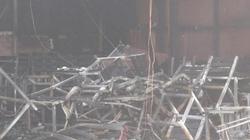 Lửa bốc cháy ngùn ngụt ở quán nhậu, 3 người tháo chạy thoát hiểm