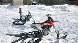 Mãn nhãn màn chạy trên tuyết của các xế độ