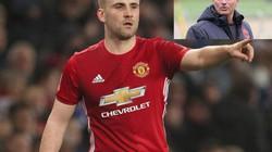 HLV Mourinho lên tiếng về tương lai của Luke Shaw ở M.U