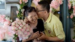 Cặp đôi kỷ niệm đám cưới trên không trung vào ngày Valentine
