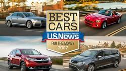 9 mẫu xe ô tô đáng mua nhất 2017