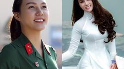 Nữ tân binh nhập ngũ đang gây sốt từng thi Hoa hậu VN