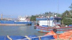 Quảng Trị: Cửa biển bị bồi lấp, ngư dân không thể ra khơi
