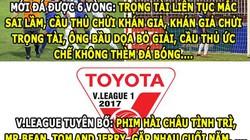 """HẬU TRƯỜNG (20.2): V.League """"tấu hài"""" cho cả thế giới"""