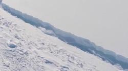 """Vết nứt khổng lồ có thể """"xé đôi"""" Bán đảo Nam Cực"""