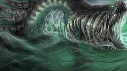 Phát hiện xác rắn biển huyền thoại dạt vào bờ biển Anh?