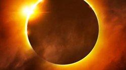 """Video: Nhật thực hình """"vòng tròn lửa"""" rực sáng bầu trời"""