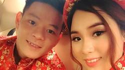 """Lực sĩ Thạch Kim Tuấn """"yên bề"""" bên vợ xinh"""