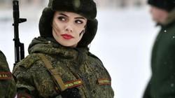Ngắm những bóng hồng đẹp nhất trong quân đội Nga