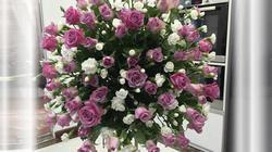 Học bà mẹ Hà thành cắm hoa cực đẹp cho ngày 8/3