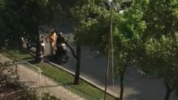 """Kiểm tra vụ clip """"CSGT dùng tay chạm vào hông"""" người lái xe"""