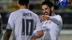 Real bán James Rodriguez và Isco, gom tiền tậu Hazard