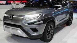 Ssangyong XAVL: Ý tưởng xe 7 chỗ đẹp mắt