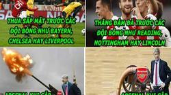 """HẬU TRƯỜNG (12.3): Arsenal chỉ giỏi """"ăn hiếp"""" đội bóng nhỏ"""