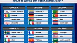 U20 World Cup 2017: U20 Việt Nam cùng bảng ĐKVĐ châu Âu