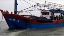 Dây cáp tời bị đứt, 2 ngư dân thương vong trên biển