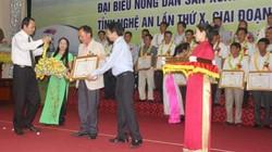 Nghệ An: Tôn vinh 131 hộ nông dân giỏi tiêu biểu