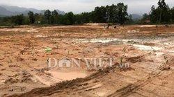 Quảng Ninh: Khai thác đất sét trái phép trong đất quốc phòng