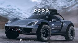 "Xem Porsche 918 Spyder ""biến hình"" thành xe việt dã"