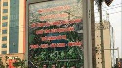 """Quận Nam Từ Liêm """"nói ngọng"""" chính tên mình trên biển hiệu gây xôn xao"""