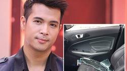 Trương Thế Vinh bị trộm đập vỡ ô tô lấy tài sản